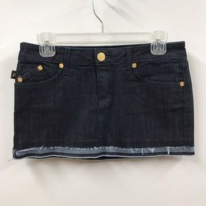 Rock & Republic 26 Denim Jean Mini Skirt- Like New